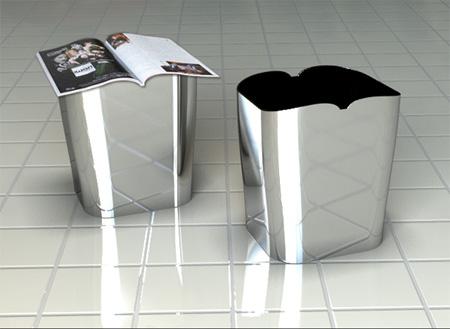 国外垃圾桶创意设计
