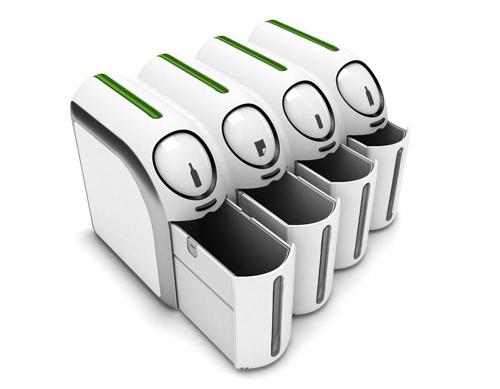 感应式分类垃圾桶