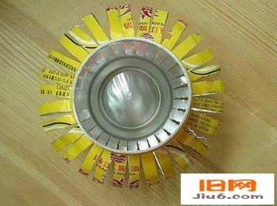 易拉罐手工制作创意灯笼