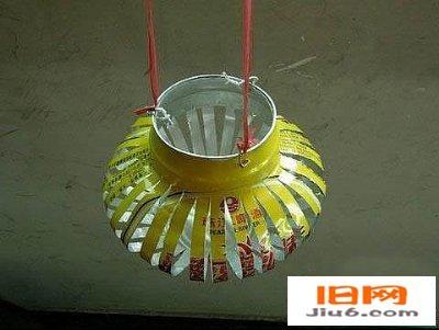天天洁--了解环保--易拉罐手工制作创意灯笼--天天洁